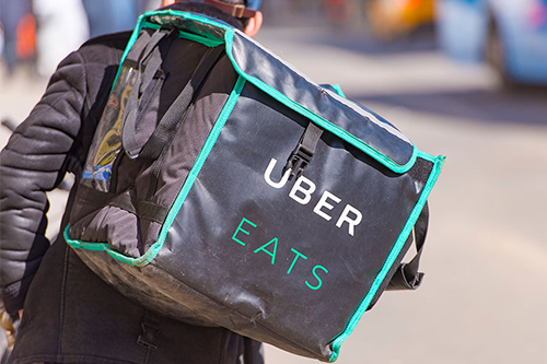 Food delivery drivers cautioned that personal insurance may not cover them