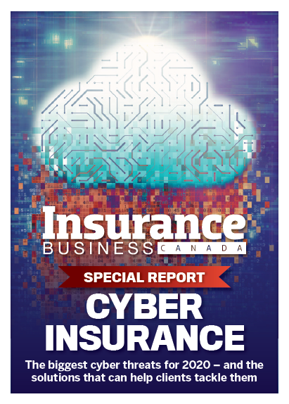 Insurance Business Magazine 8.05 - Cyber Report