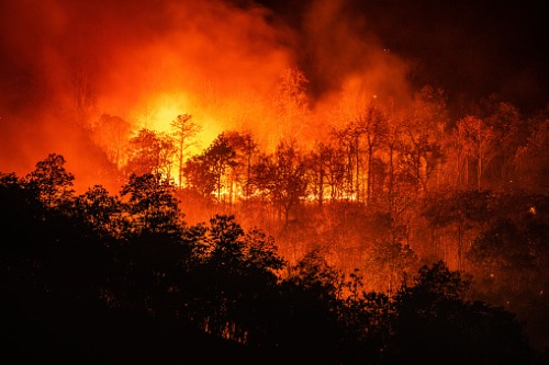 Combination of factors increasing risk of wildfire in Canada