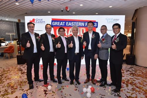 Great Eastern unveils new office in Paya Lebar Quarter
