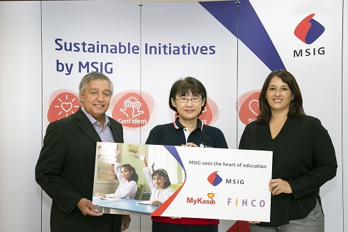 MSIG Malaysia to help support underprivileged students