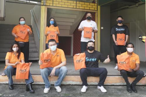 FWD, Surer show appreciation to Singapore