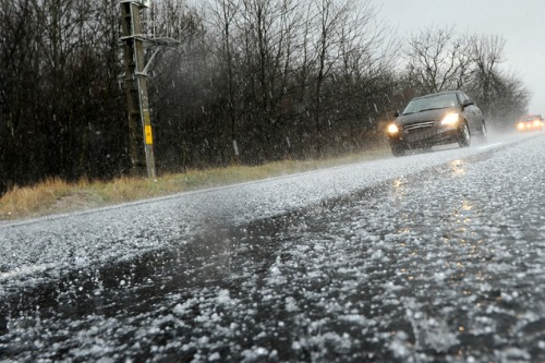 Businesses struggling to deal with hailstorm aftermath