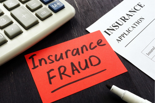 Why does insurance fraud increase during a recession?