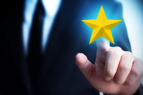 Which insurers have been given the gold star by customers?