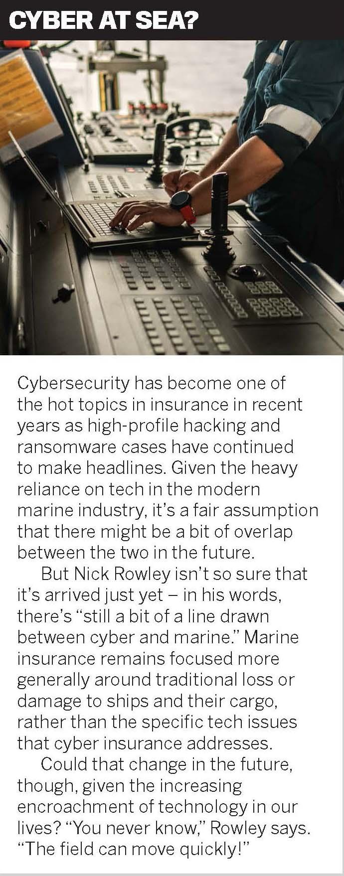 Cyber at sea?