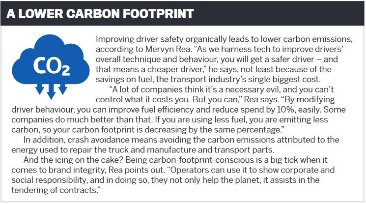A lower carbon footprint