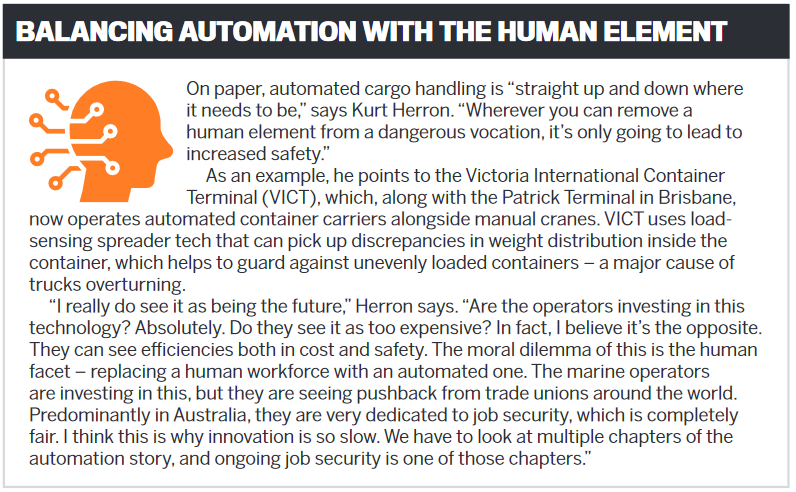 Balancing automation with the human element