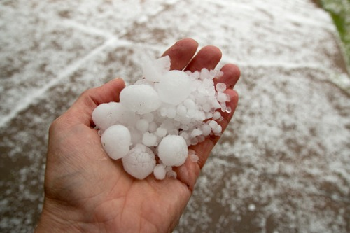 Hail hits Canberra to increase insurance workload