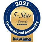 5-Star Awards 2021: Professional Indemnity Insurers