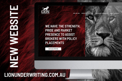 Lion Underwriting roars louder with revamped online presence