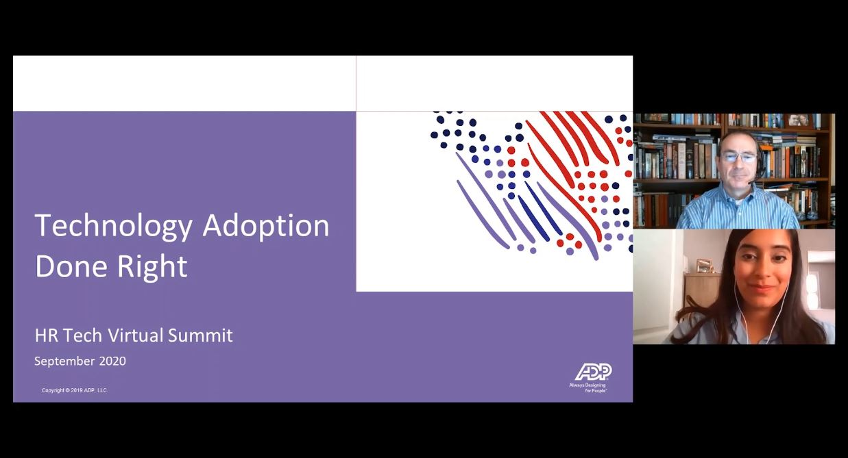 ADP's VP Implementation: Technology adoption done right