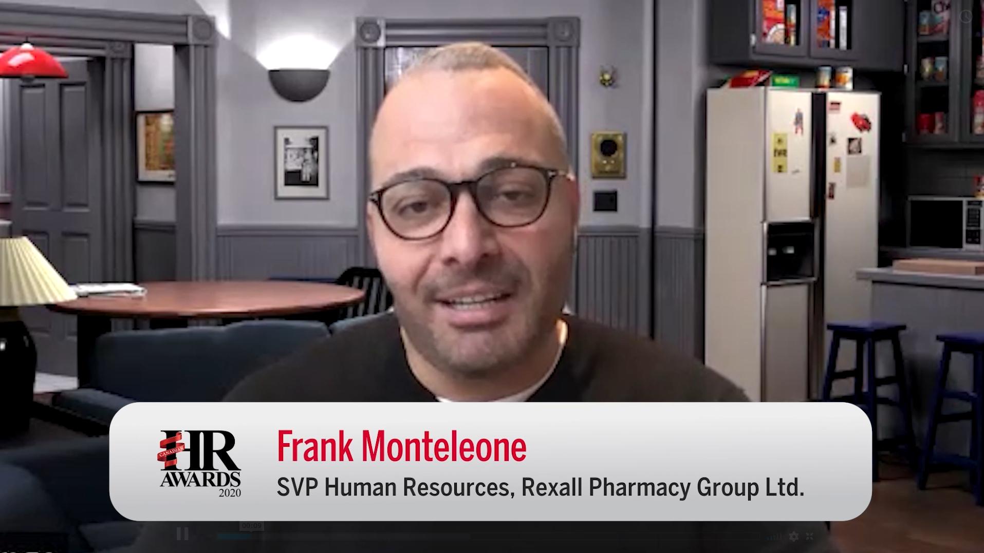 VIDEO: Frank Monteleone, SVP HR at Rexall