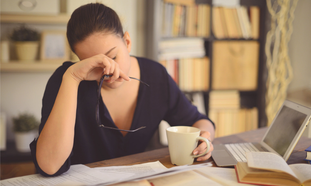 Are remote workers developing unhealthy habits?