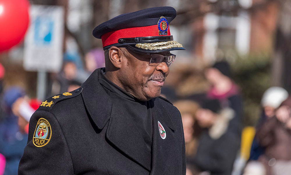 Toronto's first black police chief to step down