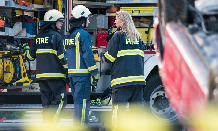 Accommodation efforts for pregnant firefighter did not discriminate