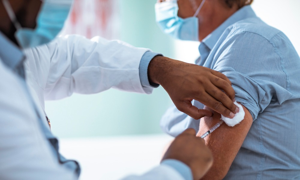 Get double vaccinated by Nov 1st – or else