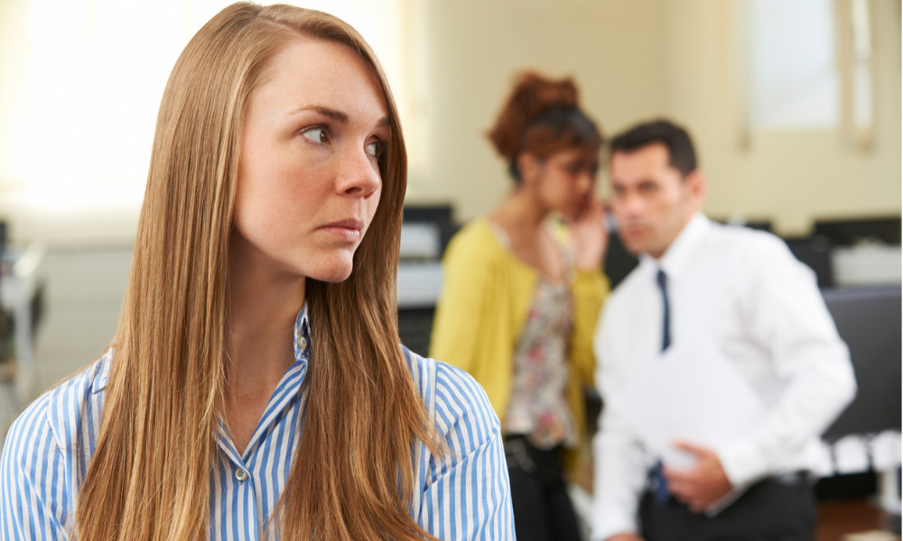 How to spot a workplace bully