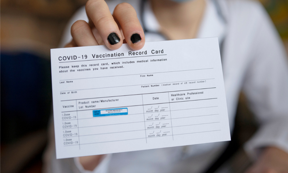 Canada mandates vaccine for all federal workers