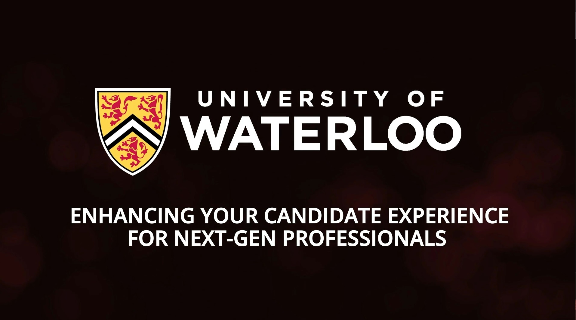 Enhancing your candidate experience for next-gen professionals