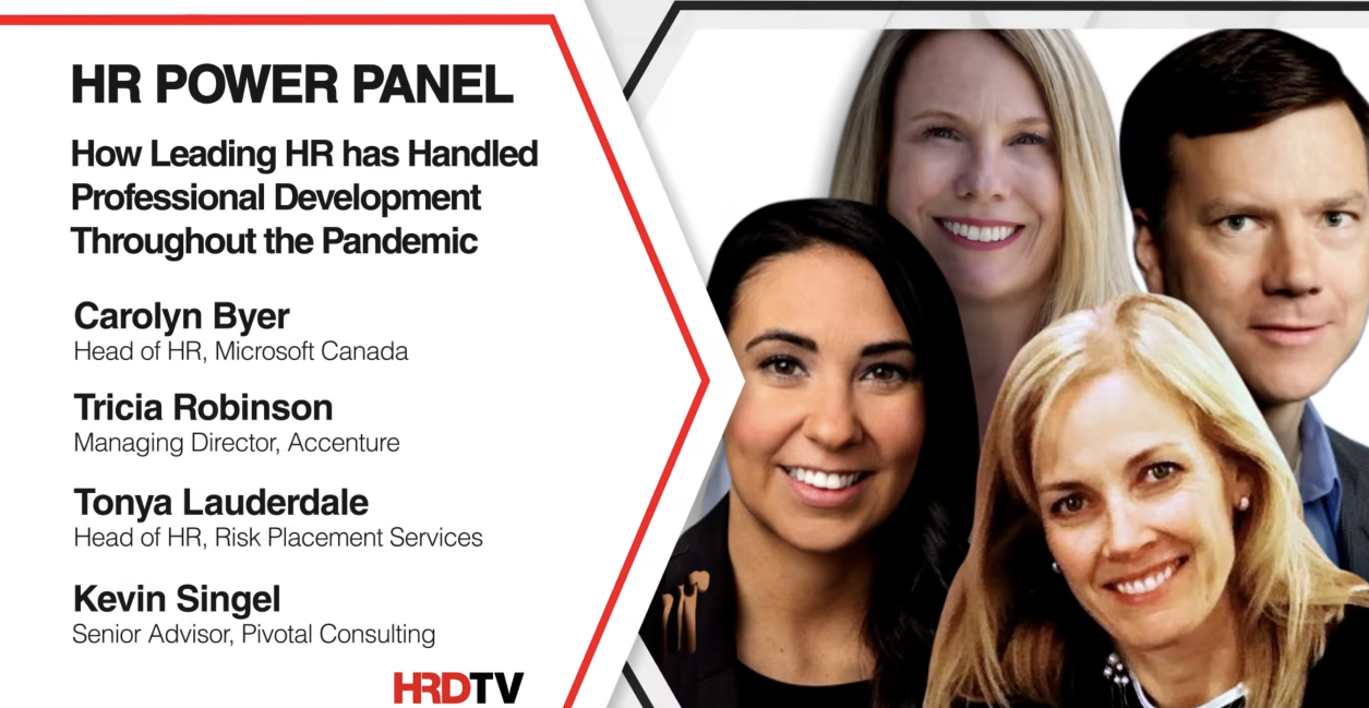 How HR handled professional development throughout the pandemic