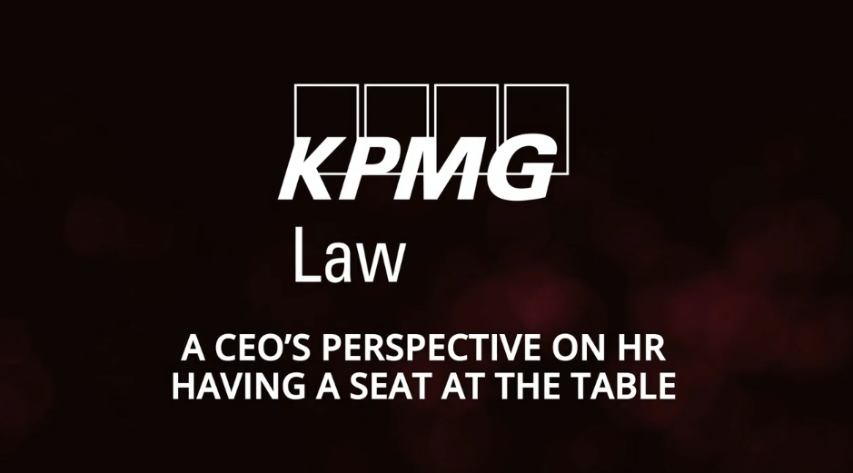 A CEO's perspective on hr having a seat at the table