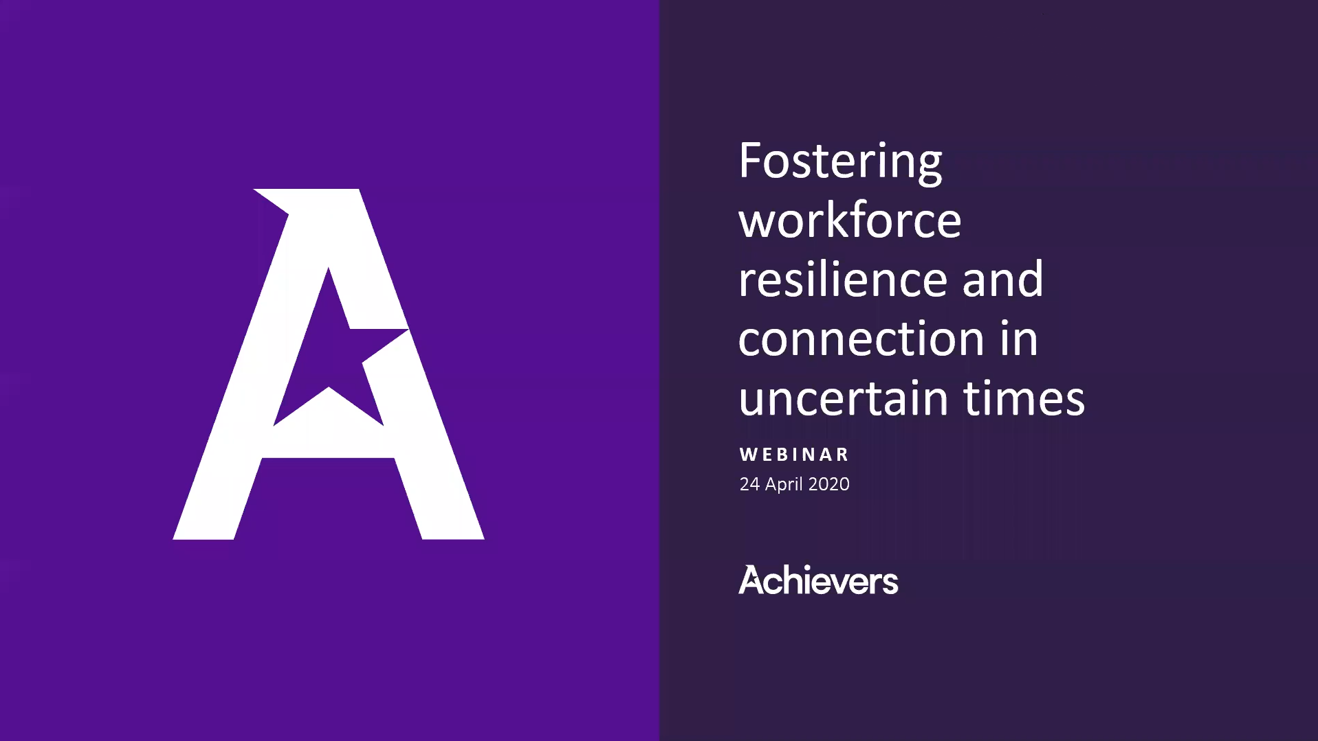 Fostering workplace resilience and connection during COVID-19