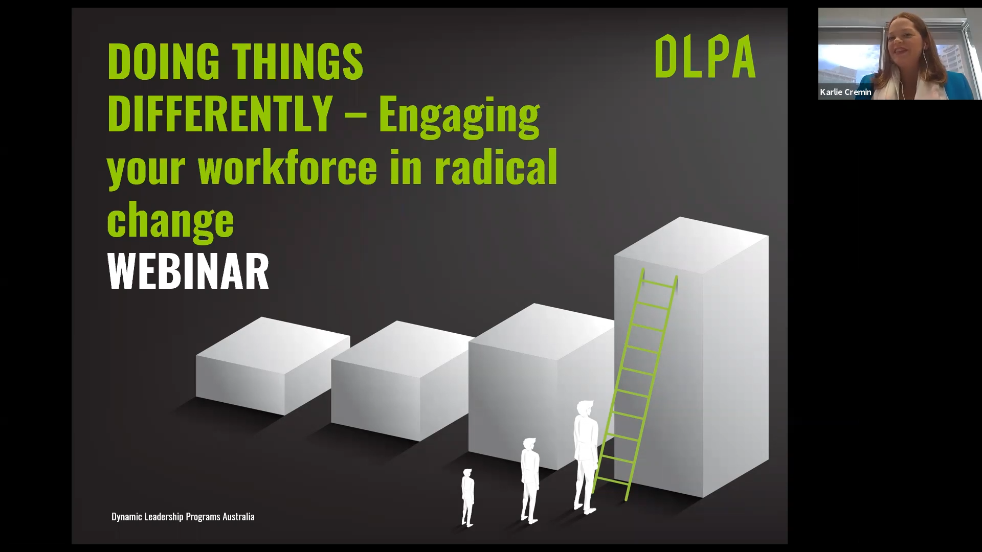 Doing things differently – how to engage your team in radical change