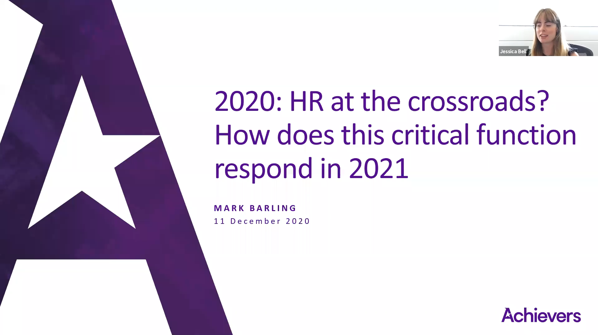2020: HR at the crossroads? How does this critical function respond in 2021