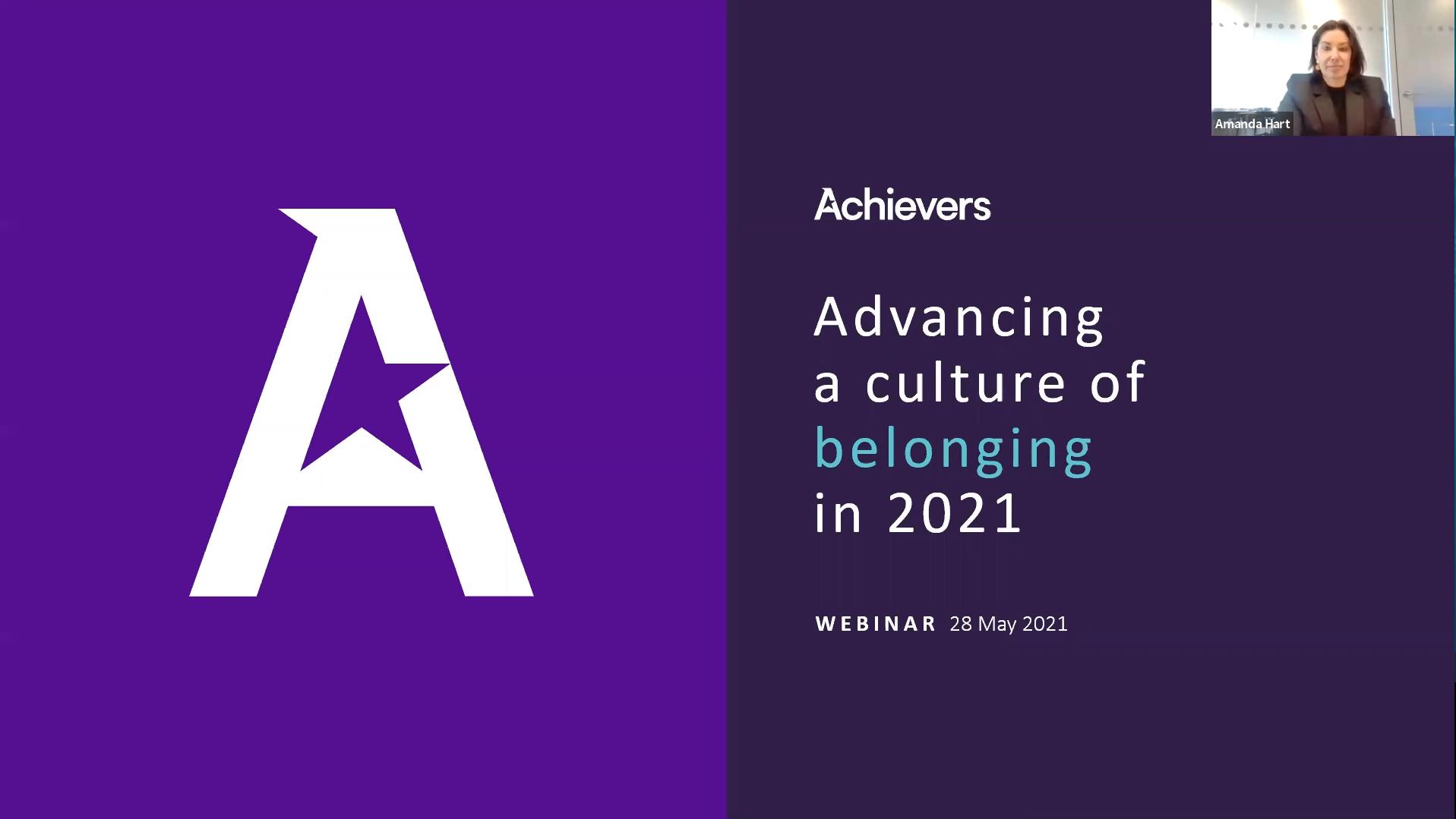 Advancing a Culture of Belonging in 2021