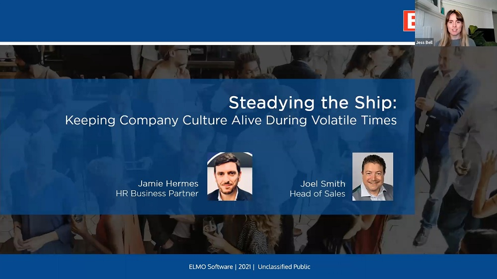 Steadying the ship: Keeping company culture alive during volatile time