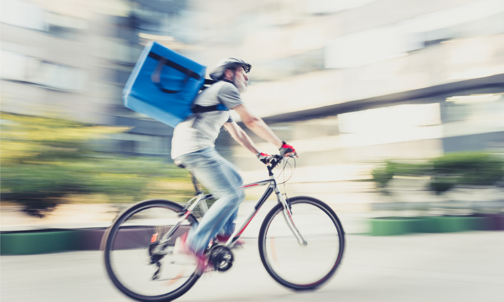 Deliveroo riders elect first health and safety representatives in 'milestone' for gig economy