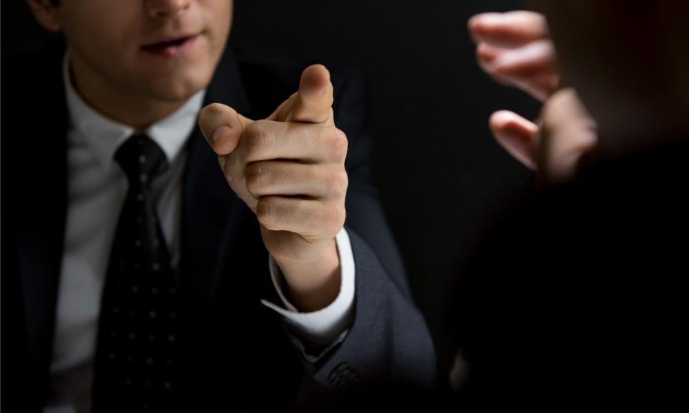 Barrister displays 'vulgar behaviour' towards clerk