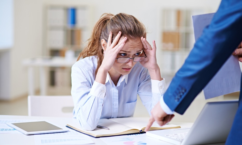 Top 8 most embarrassing workplace mistakes