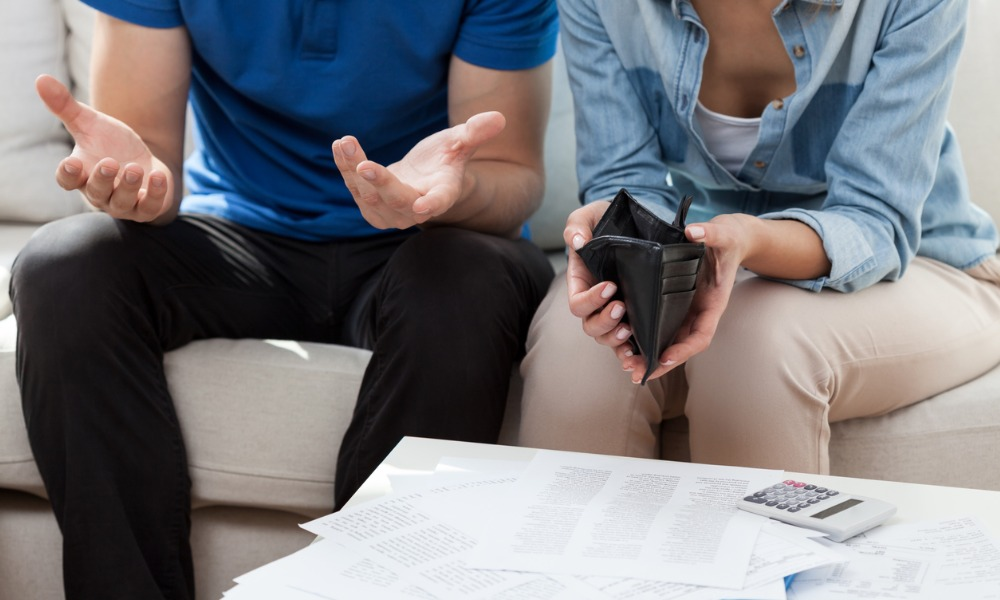 Money problems a growing concern among Aussie couples