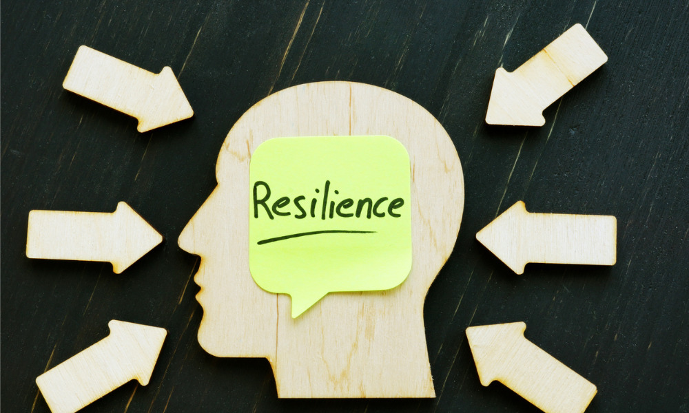 'The good news is resilience can be taught'