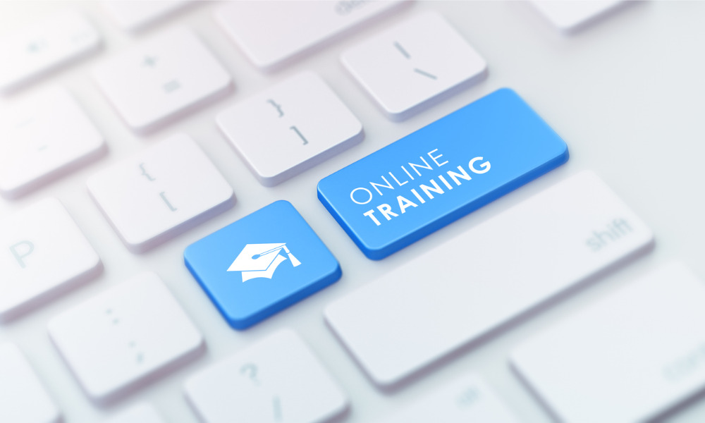 How online training can support your organisation during change
