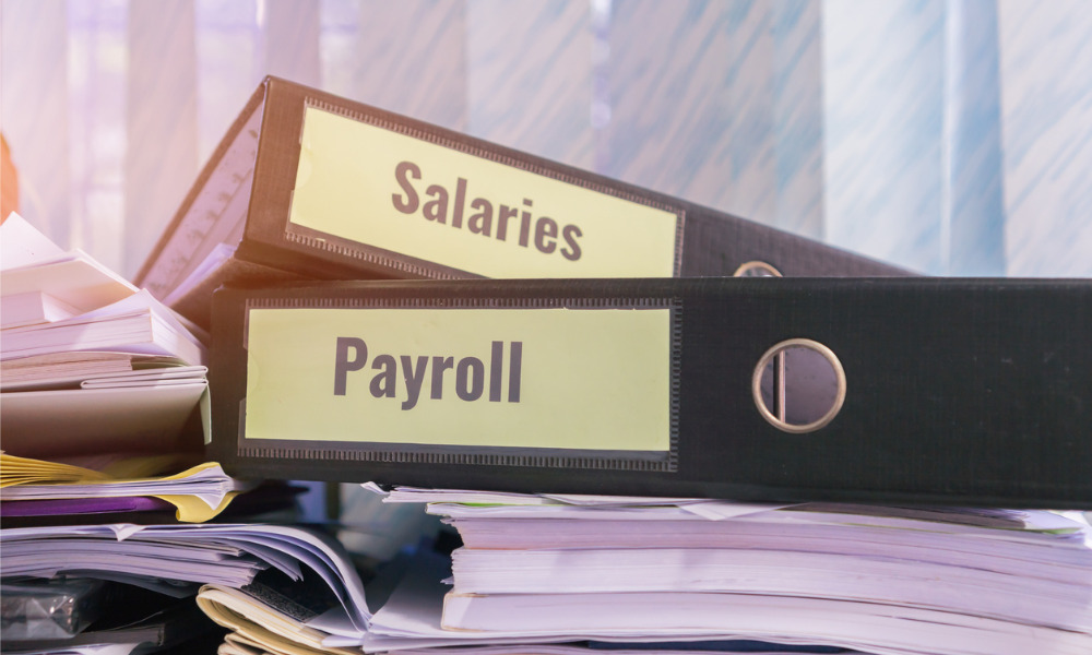 Payroll management in a crisis