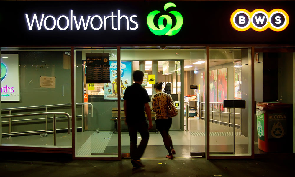Woolworths employees send powerful message to 'abusive' customers