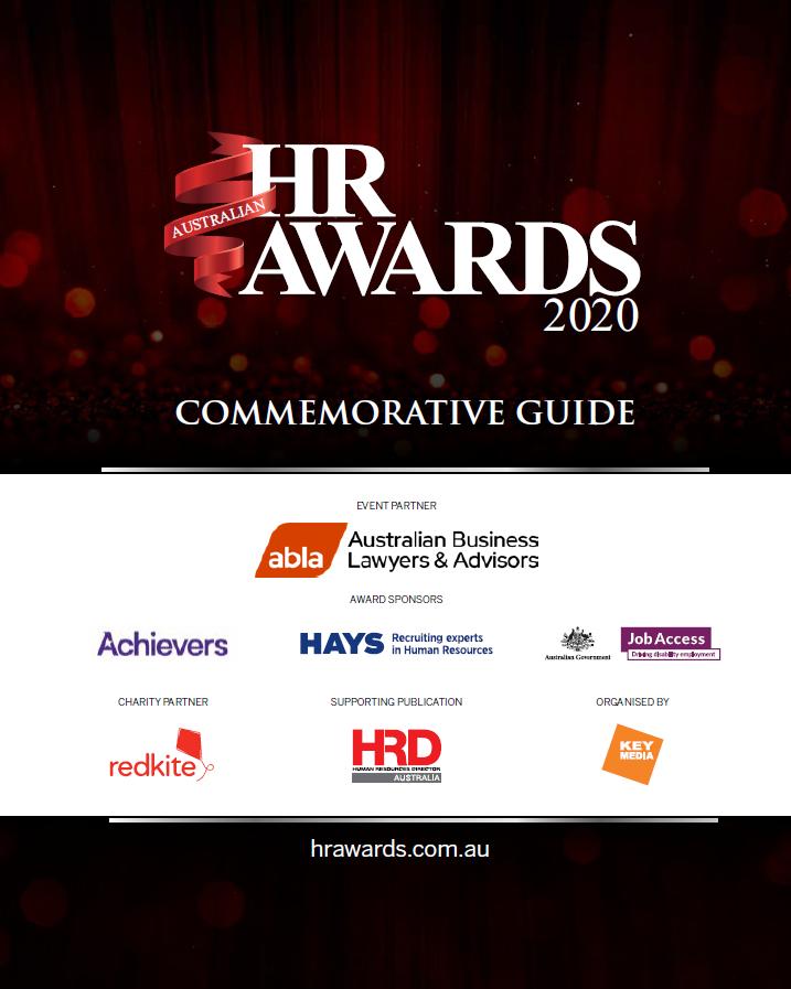 Australian HR Awards 2020 Commemorative Guide