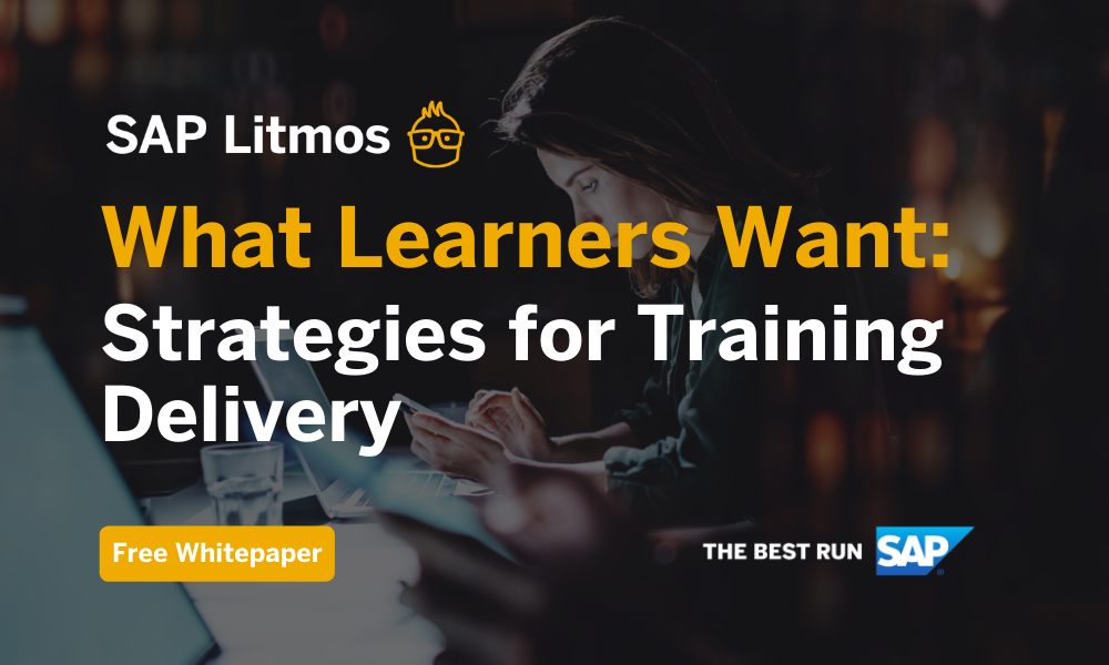 Free Whitepaper: Strategies for training delivery