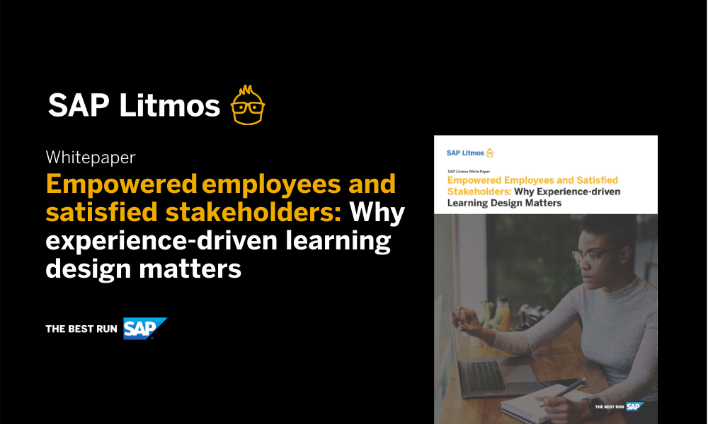 Free Whitepaper: Why Experience-driven Learning Design Matters