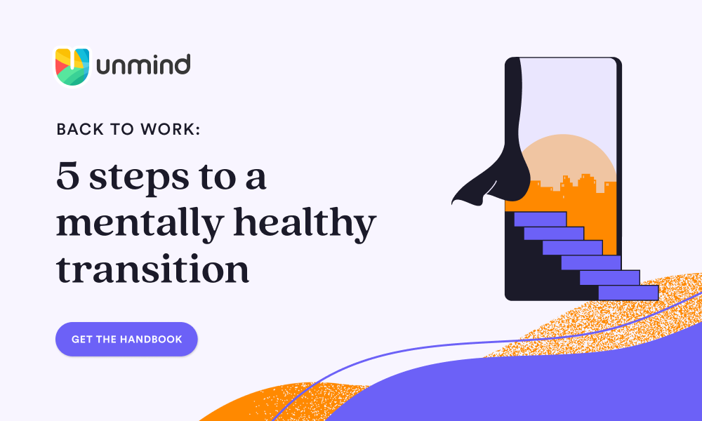 Free Whitepaper: 5 steps to a mentally healthy transition back to work