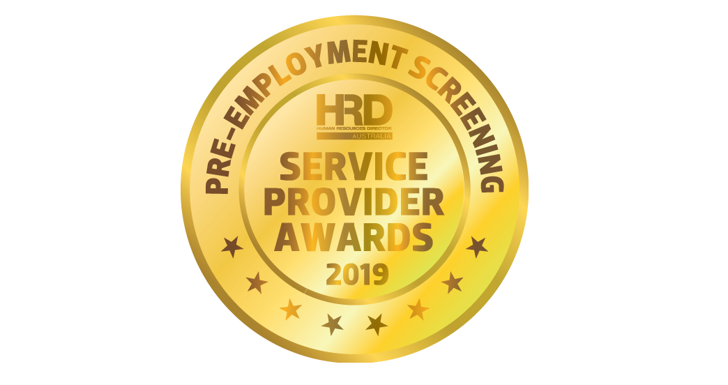 Pre-employment Screening and Psychometric Assessment – Service Provider Awards 2019