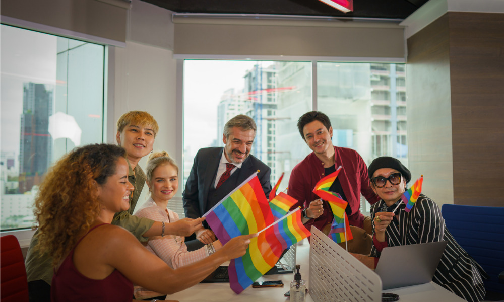 How to be an LGBTQ ally at work