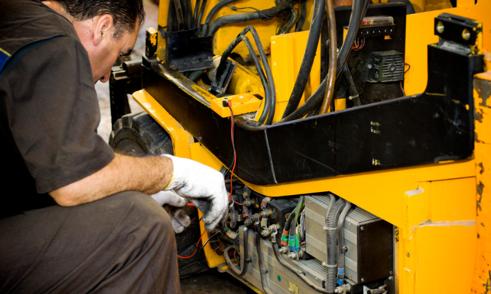 Forklift repairer fined $75K for worker injury