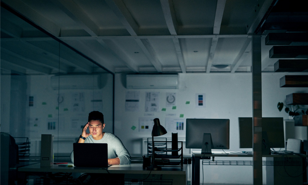 How to manage a workaholic employee