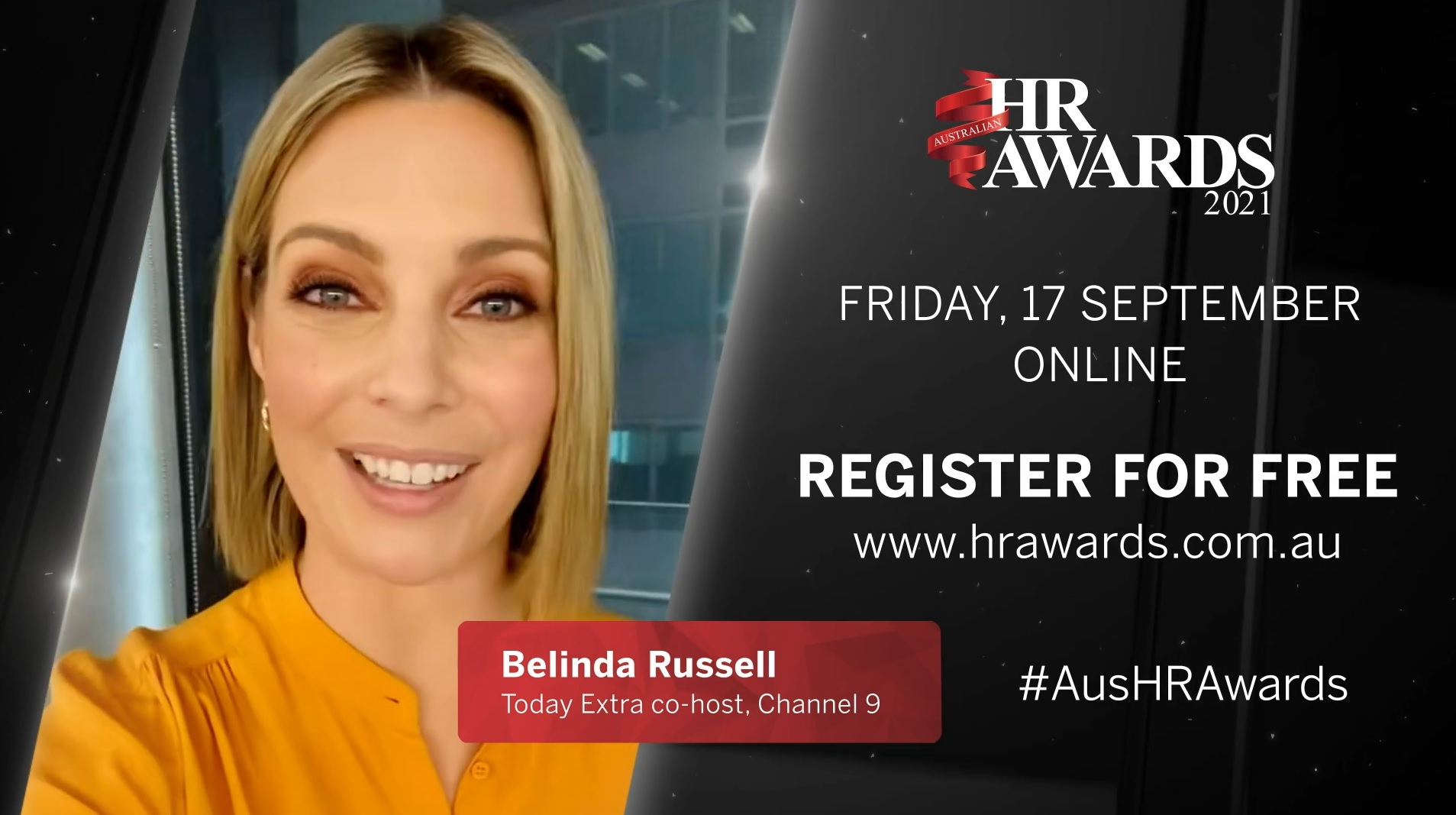 Meet your host for the virtual Australian HR Awards 2021