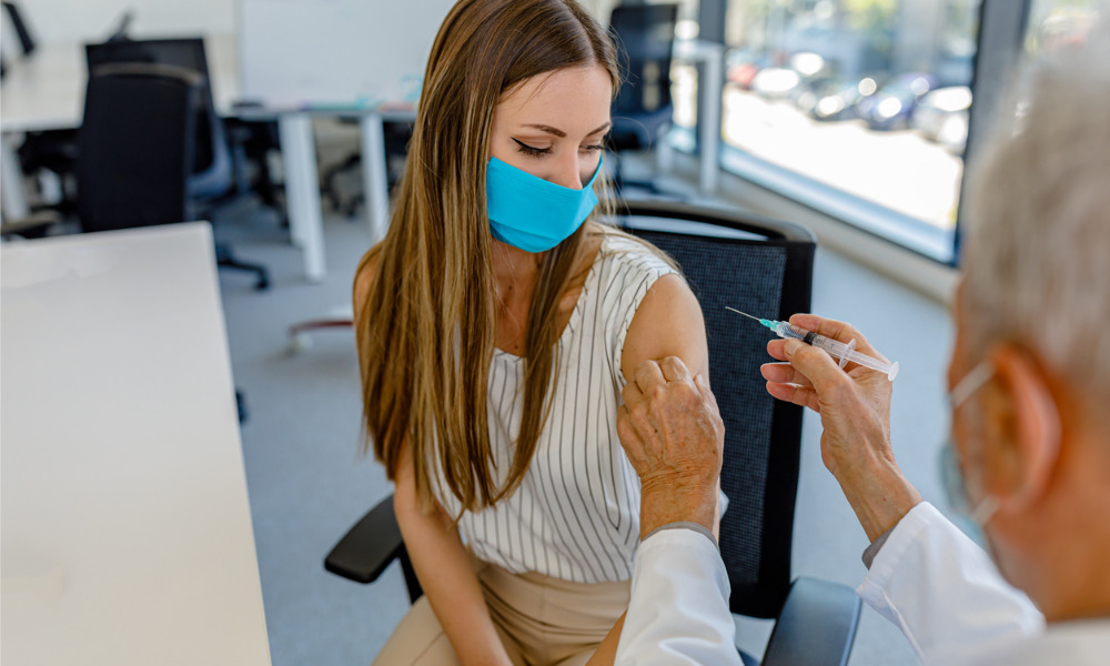 Onsite vaccine clinics come to Australian workplaces