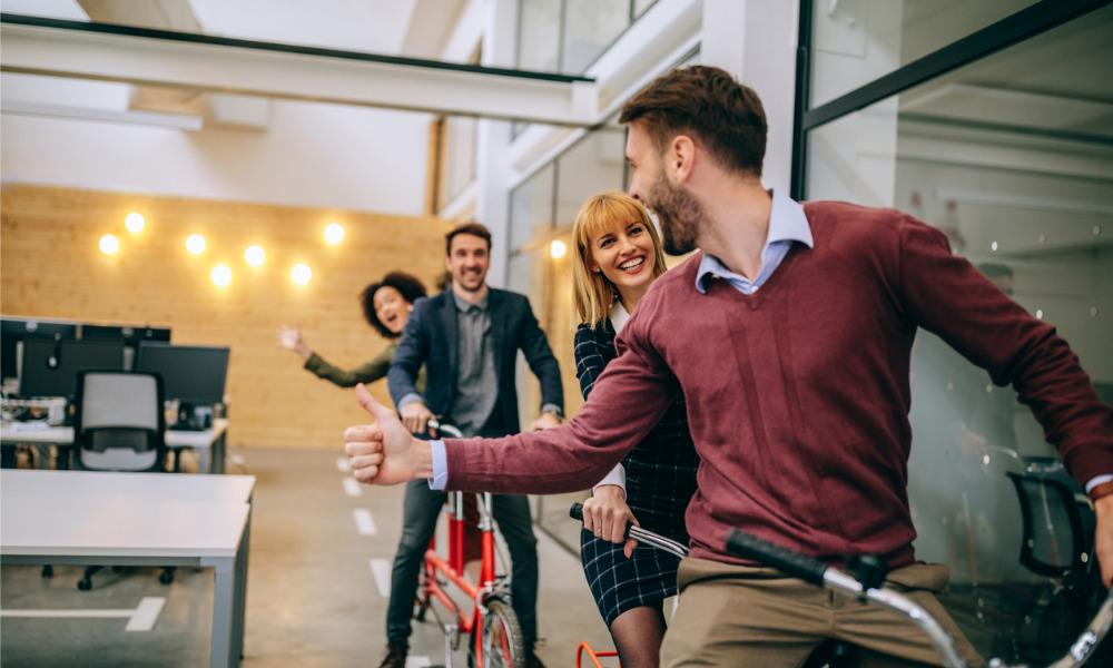 Flexible working: 6 great team-building activities